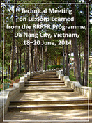 Technical Meeting on Lessons Learned from the RRRFR Programme, Da Nang City, Vietnam, 18–20 June, 2014